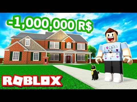 SPENDING 1,000,000R$ ON A MANSION IN ROBLOX