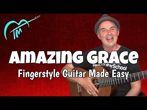 amazing grace fingerstyle guitar made easy youtube. Black Bedroom Furniture Sets. Home Design Ideas