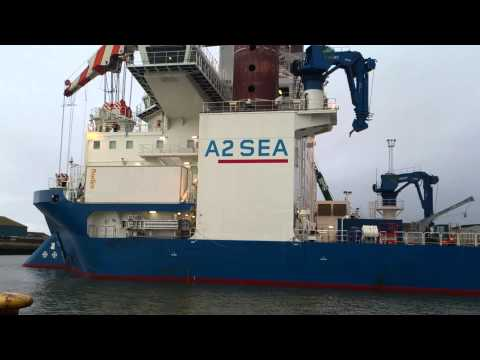 Sea Installer - (Offshore Crane Vessel)  Esbjerg Part I.