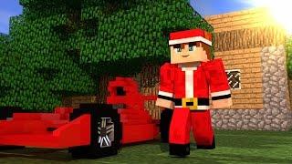 Carro de Fórmula 1 no Minecraft Pocket Edition ! [Build Battle]