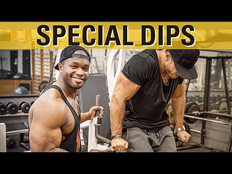 Massive Brust feat Coach Eddy - Gironda Dips - YouTube