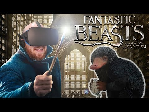 GOTTA CATCH EM ALL!! Fantastic Beasts And Where To Find Them VR Oculus Rift Gameplay