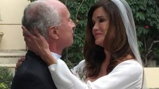 Janice Dickinson marries fiancé Dr Robert 'Rocky' Gerner in Beverly Hills