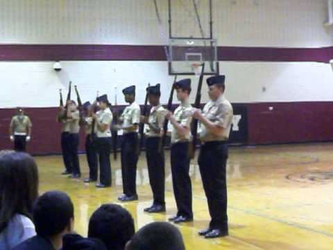 NJROTC Exhibition Sequence Sun valley High - YouTube