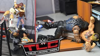 WWE ACTION FIGURE SETUP! TLC 2019!