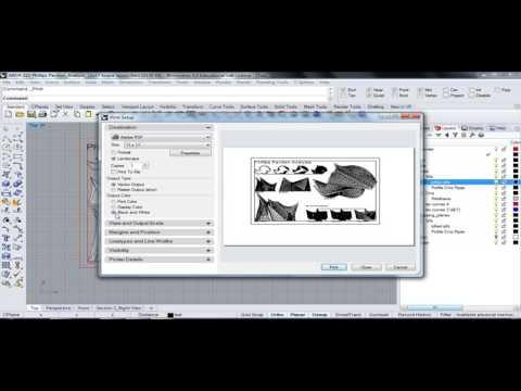 130 - Rhino - Phillips Pavilion Analysis Drawing Board Layout 03