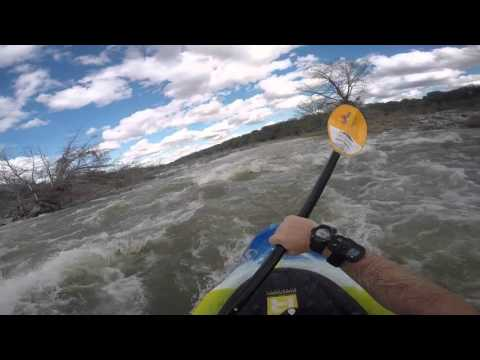 Pedernales River White Water Kayaking