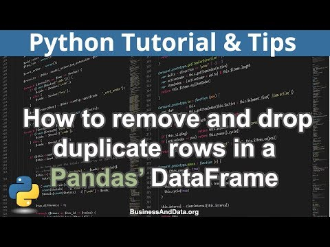 Find duplicate rows in dataframe python
