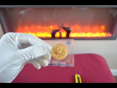 Bullion Unboxing - 2010 Gold American Buffalo, some Silver P