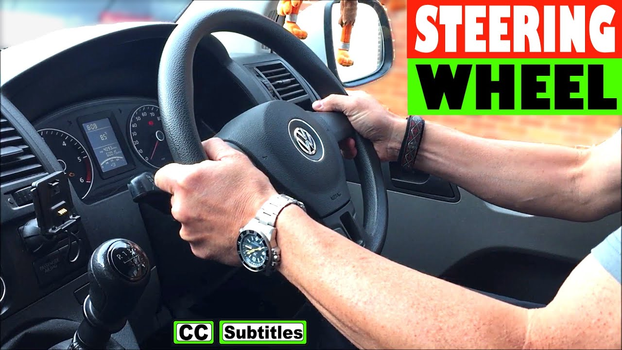 How to adjust steering wheel on VW T5 Transporter Vw Transporter T Fuse Box Location on mercedes transporter, ford transporter, shipyard transporter, iveco transporter, volkswagen transporter, hot wheels transporter, chip transporter,