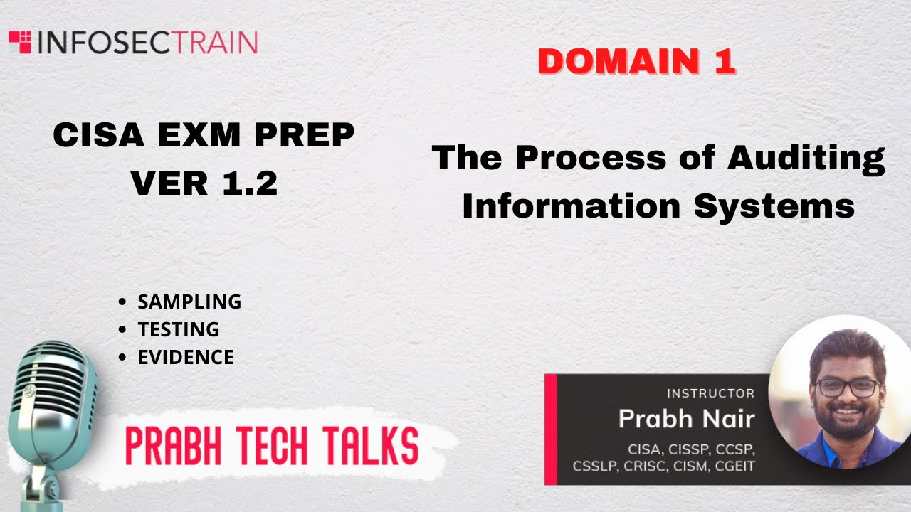 Download CISA Domain 1 The Process of Auditing Information Systems Part 1.2 Review