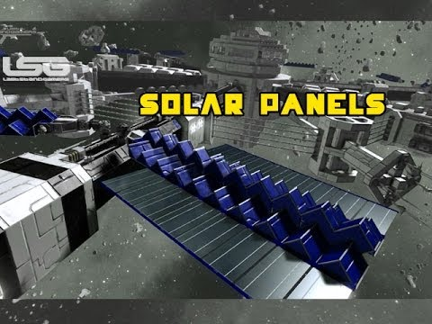 Space Engineers Solar Panels Amp Thruster Back Blast Oh No