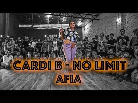 Afia I Big Dance PDSP 10 I No Limit - Cardi B