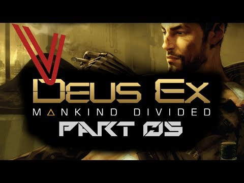 Let's Play Deus Ex: Mankind Divided part 5 – Unlocking Our Potential