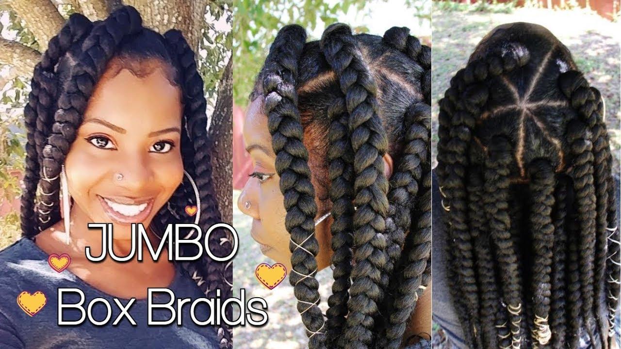 jumbo box braids in 2 hours! | teeday6