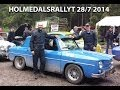 Holmedalsrallyt 2014-06-28 Renault R8 Gordini
