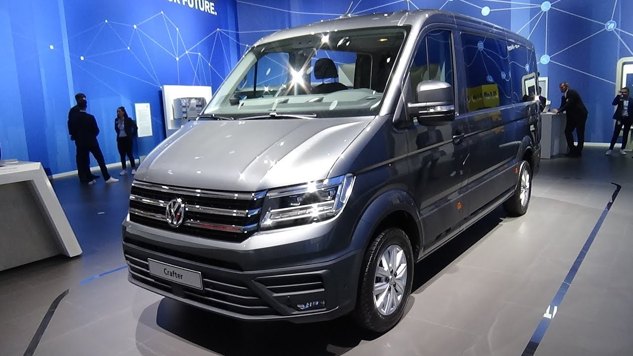 2019 Volkswagen Crafter Combi 2 0 TDI BlueMotion - Exterior and Interior -  IAA Hannover 2018