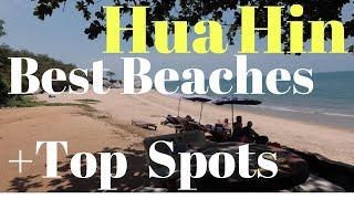 Hua Hin Top Local Spots & Beaches + Condos, Ferry Info
