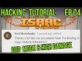 Modding Tutorial | The Binding of Isaac: Afterbirth Plus | Infinite Health & High Damage