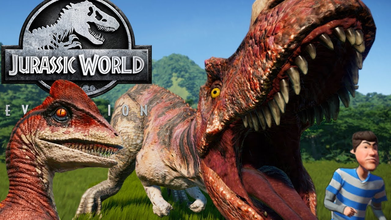 Create Your Own HYBRIDS! DINOSAURS BREAK OUT! - Jurassic World Evolution  First Look Gameplay