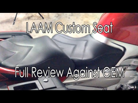 Seth LAAM Custom Seat Yamaha FJR 1300 ES Full Review