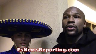 FLOYD MAYWEATHER COMPARES DANNY GONZALEZ TO A
