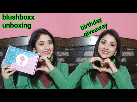 Blushboxx unboxing || Get products Worth 2000 in just 379 rs.