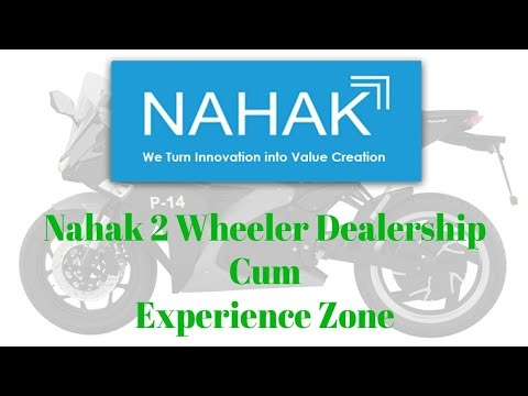 Download Nahak 2 Wheeler Dealership Cum Experience Zone. #GOGREEN #electricmobility #NahakMotors #dealer