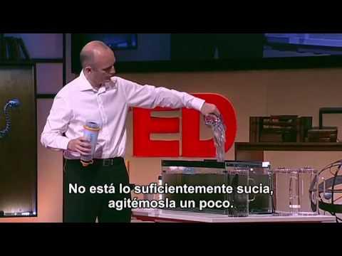 La botella que purifica agua: Michael Pritchard en TEDGlobal 2009