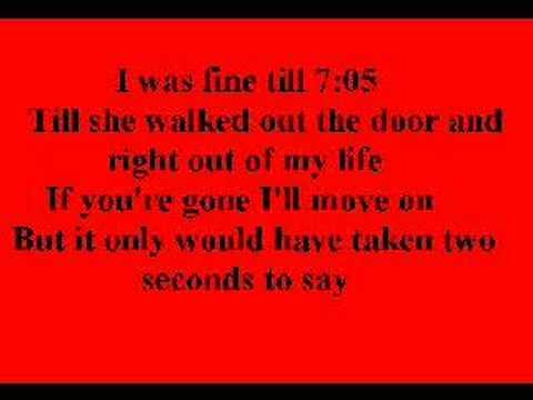 Jonas Brothers- 7:05 With Lyrics