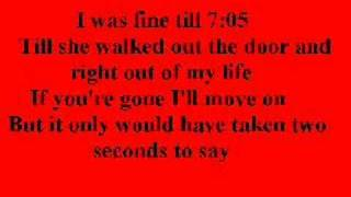 Jonas Brothers- 7:05 With Lyrics