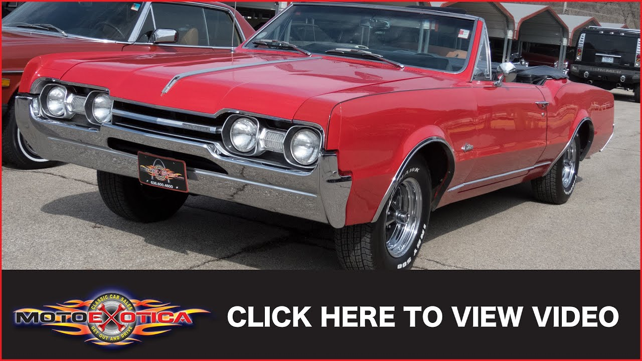 1967 Oldsmobile Cutlass Convertible SOLD
