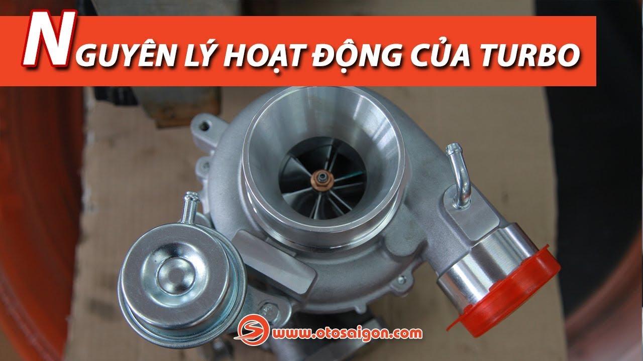 Nguyên lý hoạt động của tăng áp (turbo)