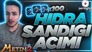 100 Adet Hidra'nın Sandığı Açımı - Metin2 TR #160