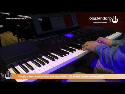 Yamaha DGX-660 | Sound & Style