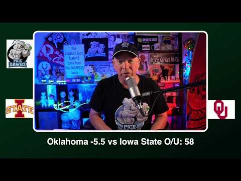 Oklahoma vs Iowa State 12/19/20 Free College Football Picks and Predictions CFB Tips