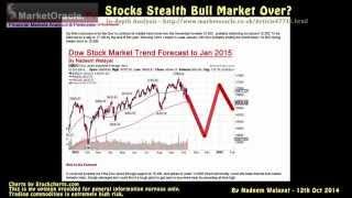 Stocks Bull Market Over? Trend Forecast to End Jan 2015
