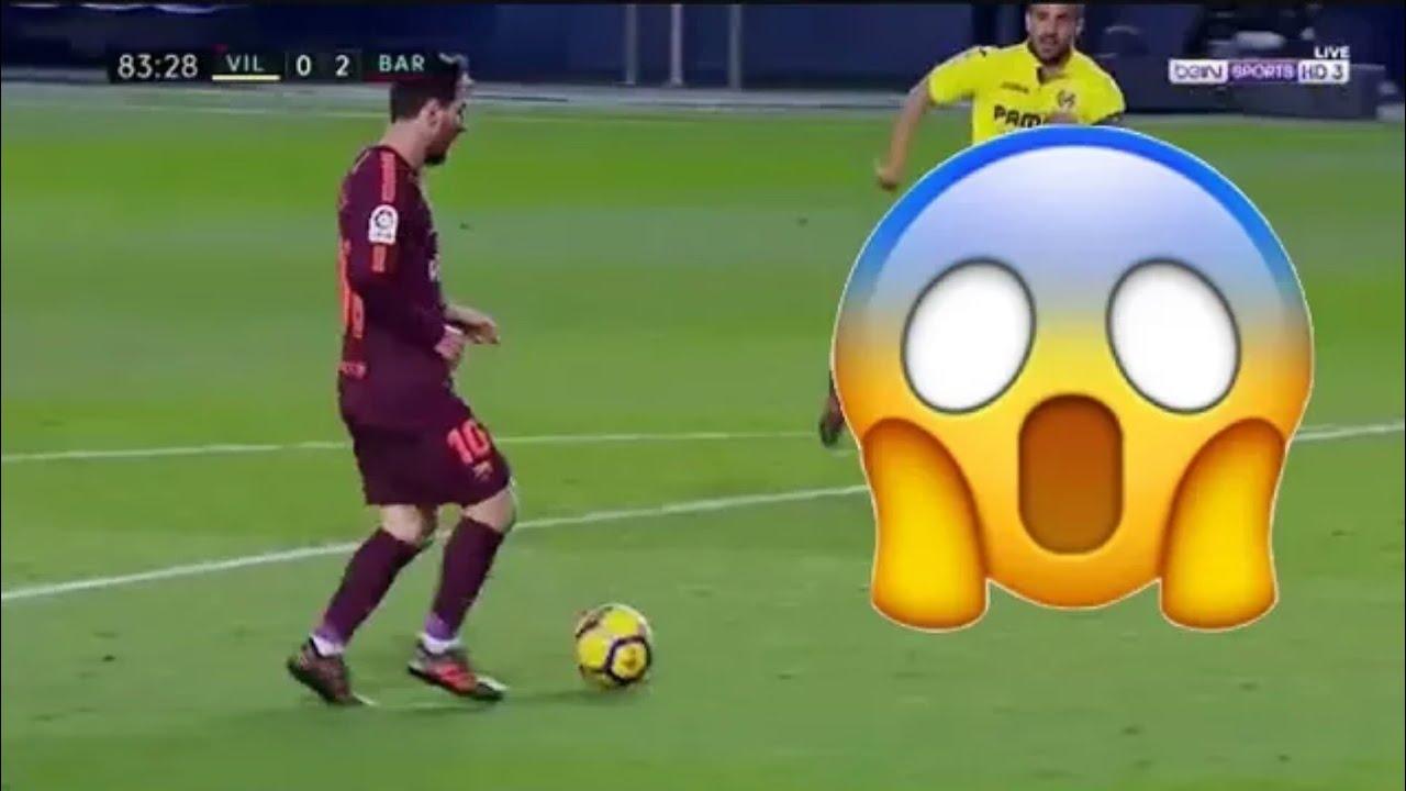 ملخص مباراة  فياريال × برشلونة  الاهداف:سواريز،ميسي