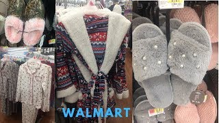 Walmart Winter Loungewear Robes, Pajamas, Nightgowns, House Shoes & More
