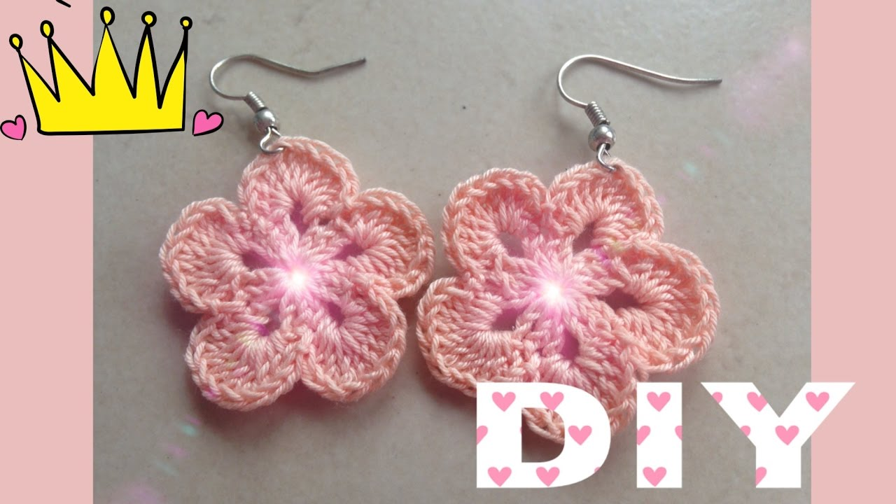 Fiori Alluncinetto Tutorial How To Flower Crochet Diy