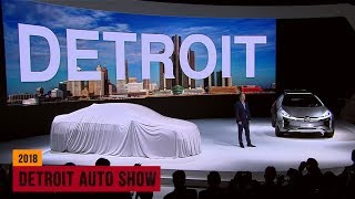 Detroit Auto Show 2018: Press Day 1 - World debuts of new cars