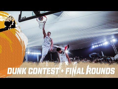 FIBA 3x3 U18 World Cup 2017 - Dunk Contest + Final Rounds - LIVE - Chengdu, China