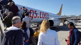 Istanbul Sabiha Gokcen Airport boarding with Pegasus Airlines (TC-CPJ)