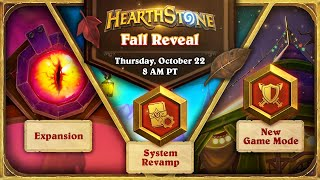 Hearthstone Fall Reveal 🍂