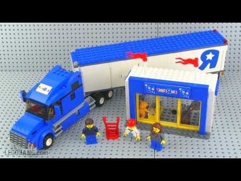 Lego toys r us truck 7848 set review youtube - Maisonnette toys r us ...