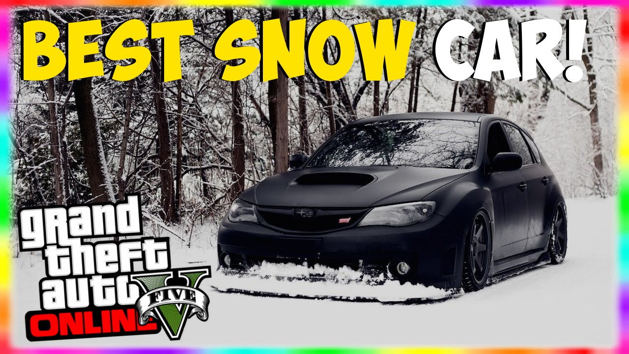 gta 5 rare cars best car for snow rare vehicles in gta 5 online gta 5 snow car snow. Black Bedroom Furniture Sets. Home Design Ideas
