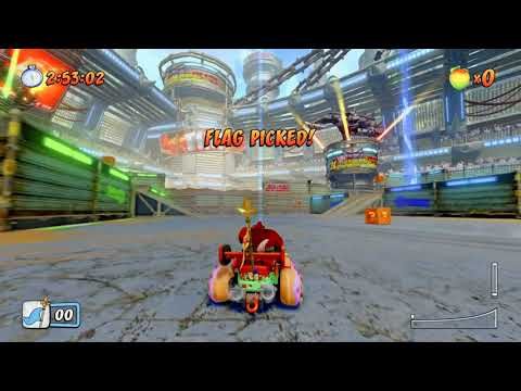 Crash Team Racing Nitro Fueled Parking Lot (Steal The Bacon)