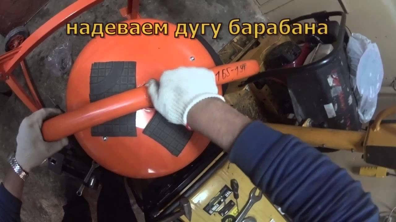 Ремонт бетономешалки своими руками