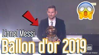 Lionel Messi Ballon D'or 2019 !!!!!! RÉaction À Chaud !!!!