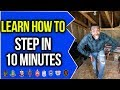 LEARN HOW TO STEP IN 10 MINUTES! | NPHC ADVICE | COREY JONES